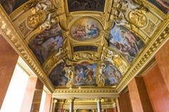 Anne de apartamentos de Áustria, o Louvre, Paris, França Fotos de Stock Royalty Free