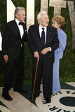 Anne Douglas, Kirk Douglas, Michael Douglas, Vanity Fair Royalty Free Stock Photography