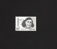 anne dutch frank image stamp Στοκ Εικόνες