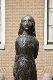 Anne Frank in Amsterdam stock fotografie