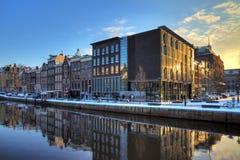 Anne Frank hus Royaltyfri Foto