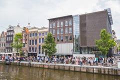 Anne Frank Museum in Amsterdam - AMSTERDAM - NEDERLAND - 20 JULI, 2017 Stock Foto's