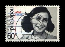 Anne Frank, 35o aniversário da libertação dos alemães, Países Baixos, cerca de 1980, Imagens de Stock