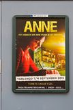 Anne Frank poster Royalty Free Stock Images