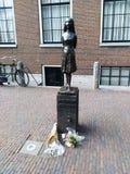 Anne Frank Statue Fotos de archivo