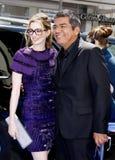 Anne Hathaway και George Lopez Στοκ Εικόνες