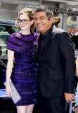 Anne Hathaway και George Lopez Στοκ φωτογραφία με δικαίωμα ελεύθερης χρήσης