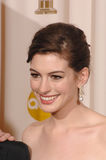 Anne Hathaway Photographie stock