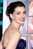 Anne Hathaway Στοκ Εικόνα