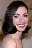 Anne Hathaway Arkivbild