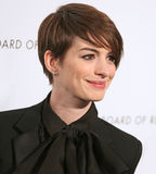 Anne Hathaway Στοκ Εικόνες