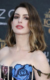 Anne Hathaway Imágenes de archivo libres de regalías