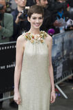 """Anne Hathaway,The Darkness. Anne Hathaway arriving for European premiere of """"The Dark Knight Rises"""" at the Odeon Leicester Square, London. 18/07/2012 Picture by Stock Images"""