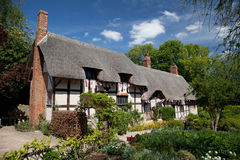 Anne Hathaway's Cottage Stock Image