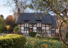Anne Hathaways Cottage Stock Photos