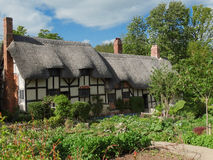 Anne Hathaway's Cottage & Garden Stock Photo
