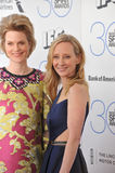 Anne Heche & Princess Isabelle zu Hohenlohe-Jagstberg Royalty Free Stock Image