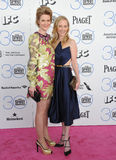 Anne Heche & Princess Isabelle zu Hohenlohe-Jagstberg Stock Images