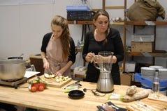ANNE HJERNOE_COPENHAGEN FOOD FAIR 2015 Royalty Free Stock Photo