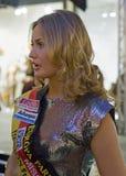 Anne Julia Hagen (Mlle Allemagne 2010) Image libre de droits