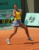 Anne KEOTHAVONG (GBR) at Roland Garros 2010 Royalty Free Stock Photos