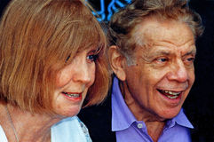 Anne Meara e Jerry Stiller Imagem de Stock Royalty Free
