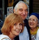 Anne Meara e Philip Fotografia de Stock