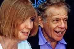 Anne Meara i Jerry Spokojny obraz royalty free