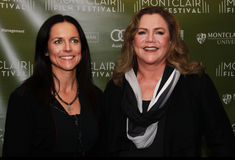 Anne Renton e Kathleen Turner Immagine Stock Libera da Diritti
