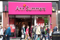 Anne Summers-opslag royalty-vrije stock afbeelding