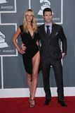 Anne V,  Adam Levine Royalty Free Stock Photography