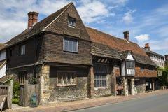 Anne von Cleves-Haus in Lewes Stockfoto