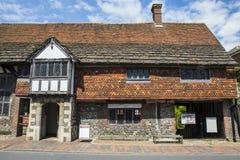 Anne von Cleves-Haus in Lewes Stockbilder