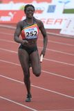 Anne Zagre - belgian sprinter Royalty Free Stock Photography