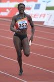 Anne Zagre - belgian sprinter Royalty Free Stock Photography