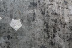 Annealing geometric texture on a steel surface. Steel annealing texture on a surfacepentagon shape stock photography