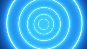 Anneau abstrait de lueur Fond abstrait coloré Image stock