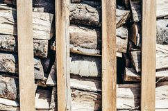 Anneau annuel de fond de bois de chauffage image libre de droits