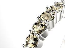 Anneau avec le diamant Fond de bijoux de mode Images libres de droits