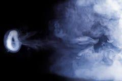 Anneau de fumée Photographie stock