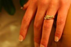 Anneau de mariage image libre de droits
