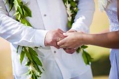 Anneau de mariage pour elle Images stock