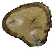 Anneau en bois Images stock