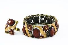 Anneaux, bracelets Image libre de droits