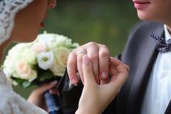 Anneaux changeants de couples Image stock