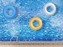 anneaux de bain Photo libre de droits