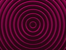 Anneaux de charme Fond géométrique radial Photo libre de droits