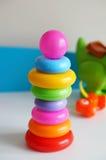 Anneaux de jouet Photographie stock