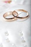 Anneaux de mariage. photographie stock libre de droits