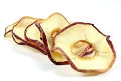 Anneaux secs 03 de pomme Image libre de droits